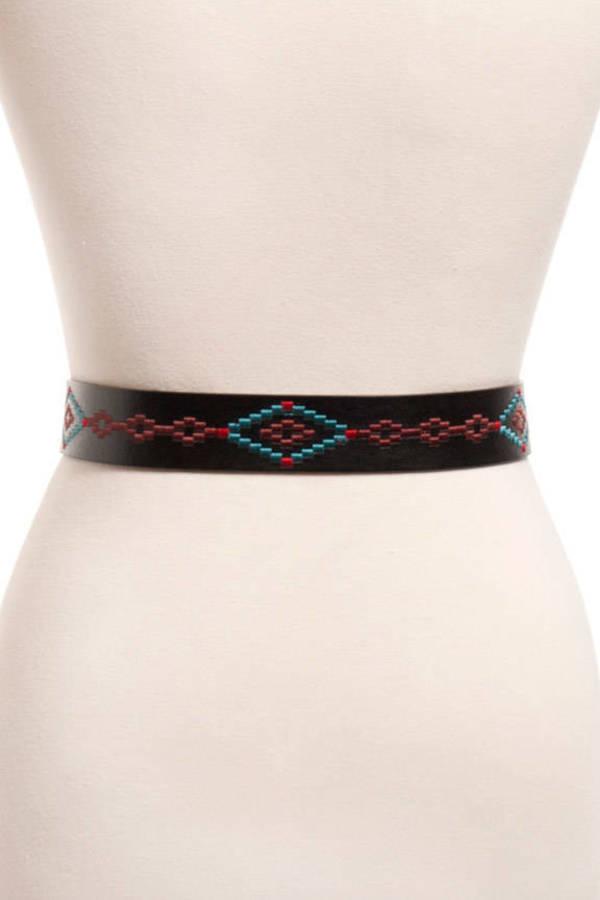 Navi Stitched Belt