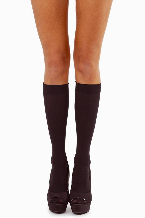 Nayeli Opaque Knee Highs