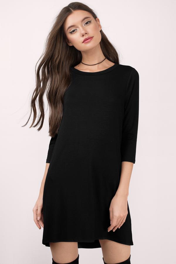 Heather Grey Shirt Dress - Long Sleeve Dress - Long Dress Shirt ...