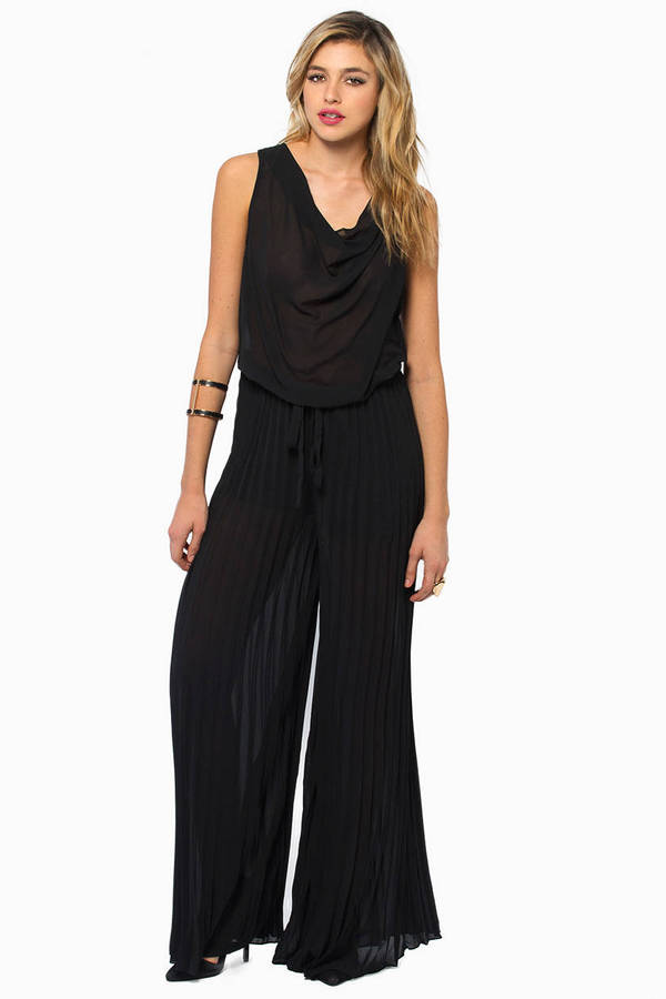 Pleat Me Well Jumpsuit