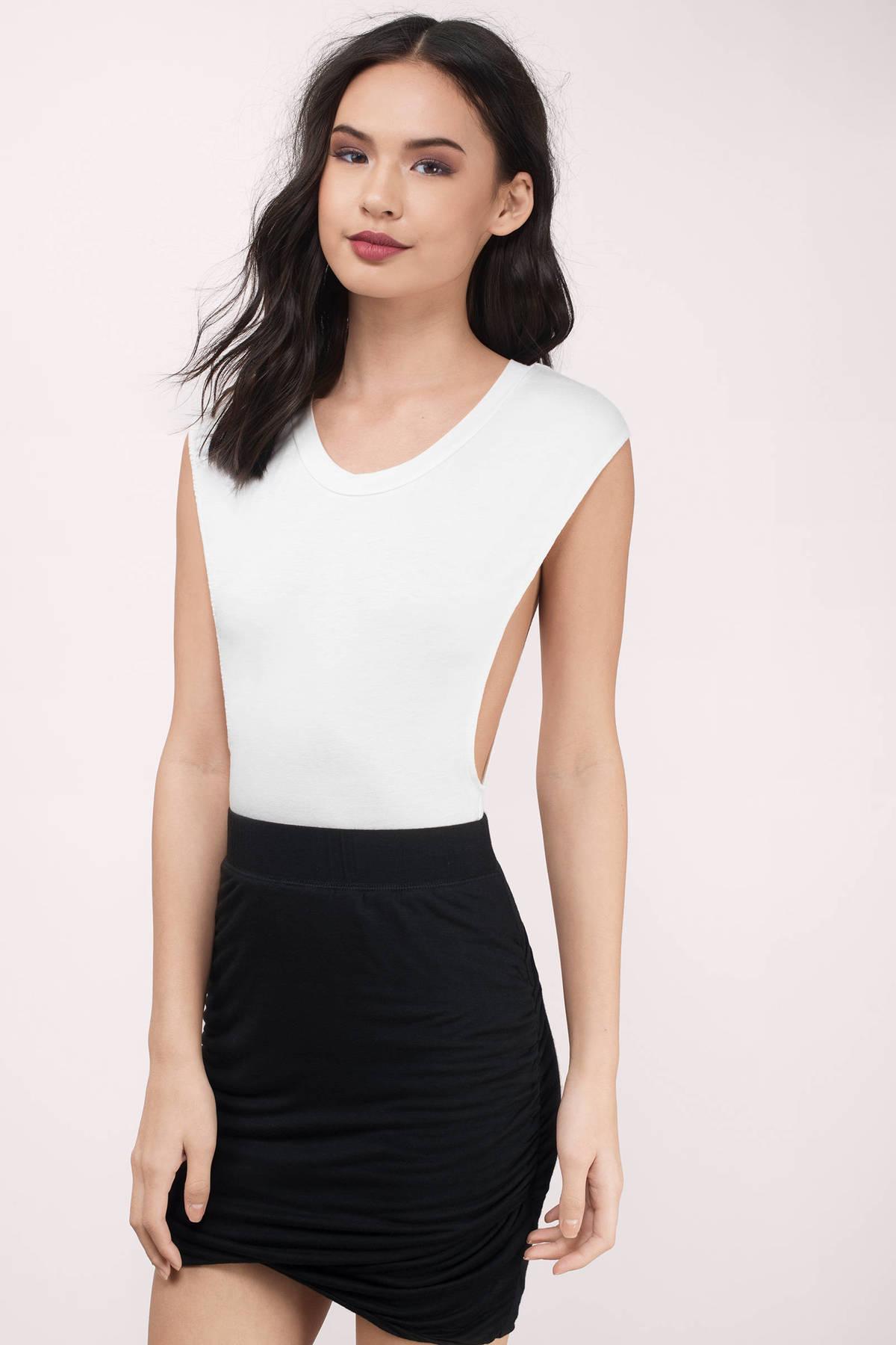 Black Mini Skirt Redskirtz