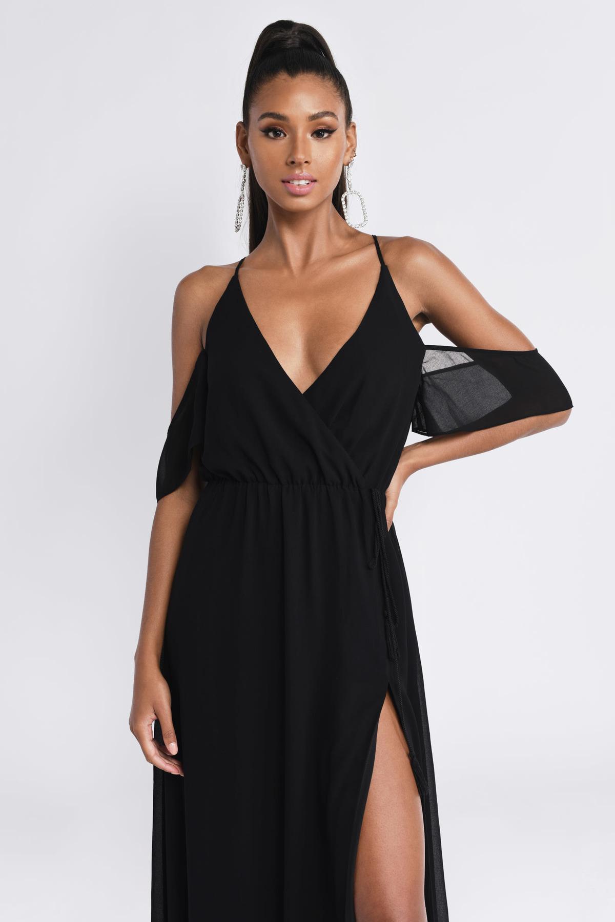 7bb87917a9f Rhythm Black Maxi Dress 7200 Tobi