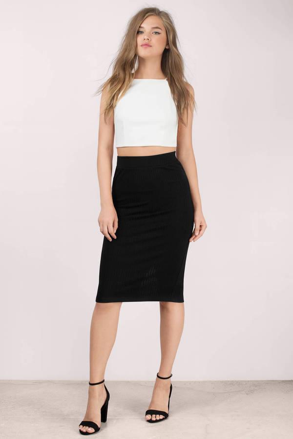 Cheap Green Skirt - Green Skirt - Back Slit Skirt - $30.00