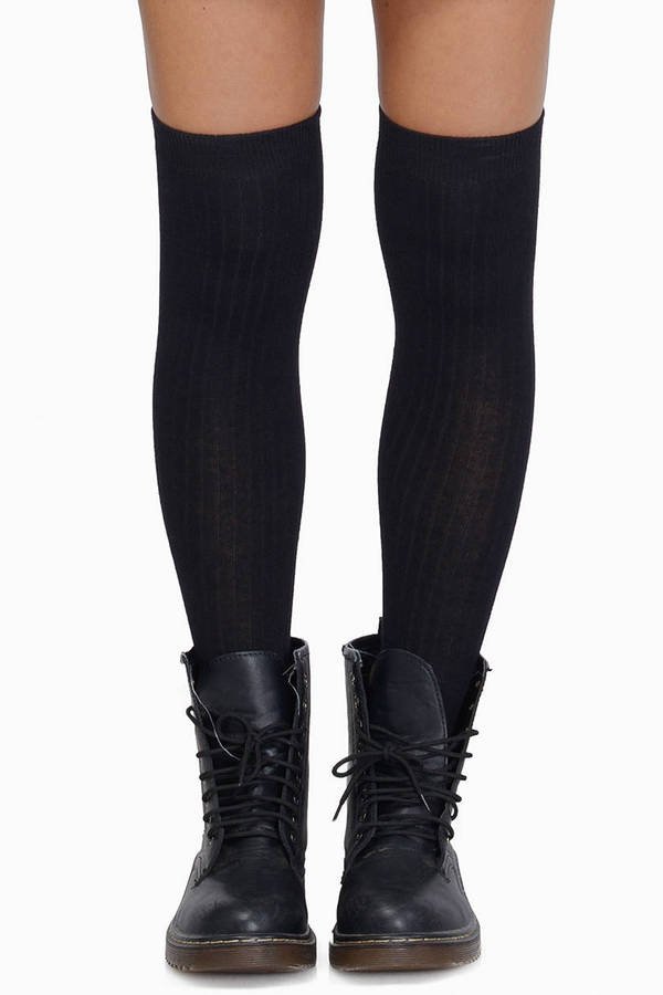 Free shipping BOTH ways on Socks, Black, Knee High Socks, from our vast selection of styles. Fast delivery, and 24/7/ real-person service with a smile. Click or call