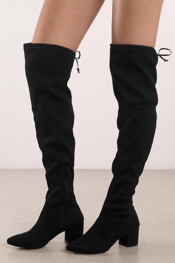 Faux Gucci Black Flat Shoes