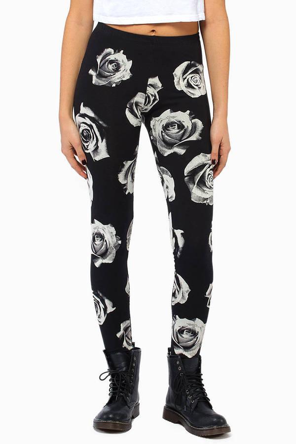 Rose Noire Leggings