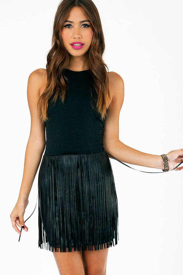So Fringed Out Dress