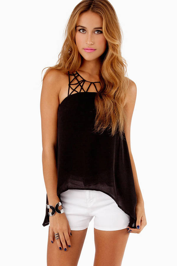 Spider Web Tank Top