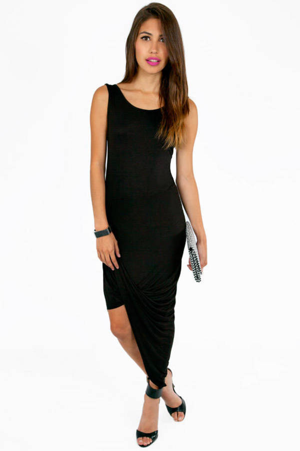 Split Ends Maxi Dress