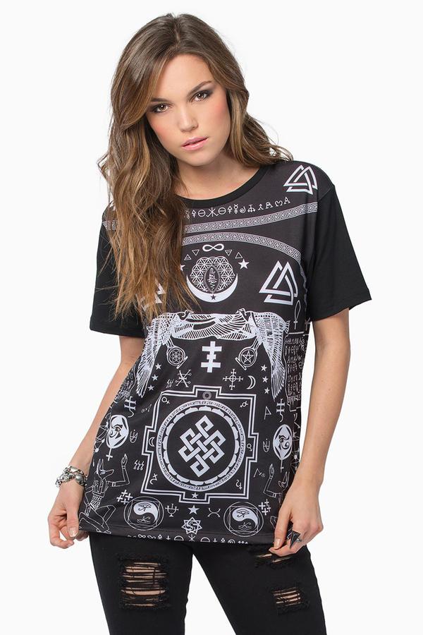Life Clothing Symbology Tee