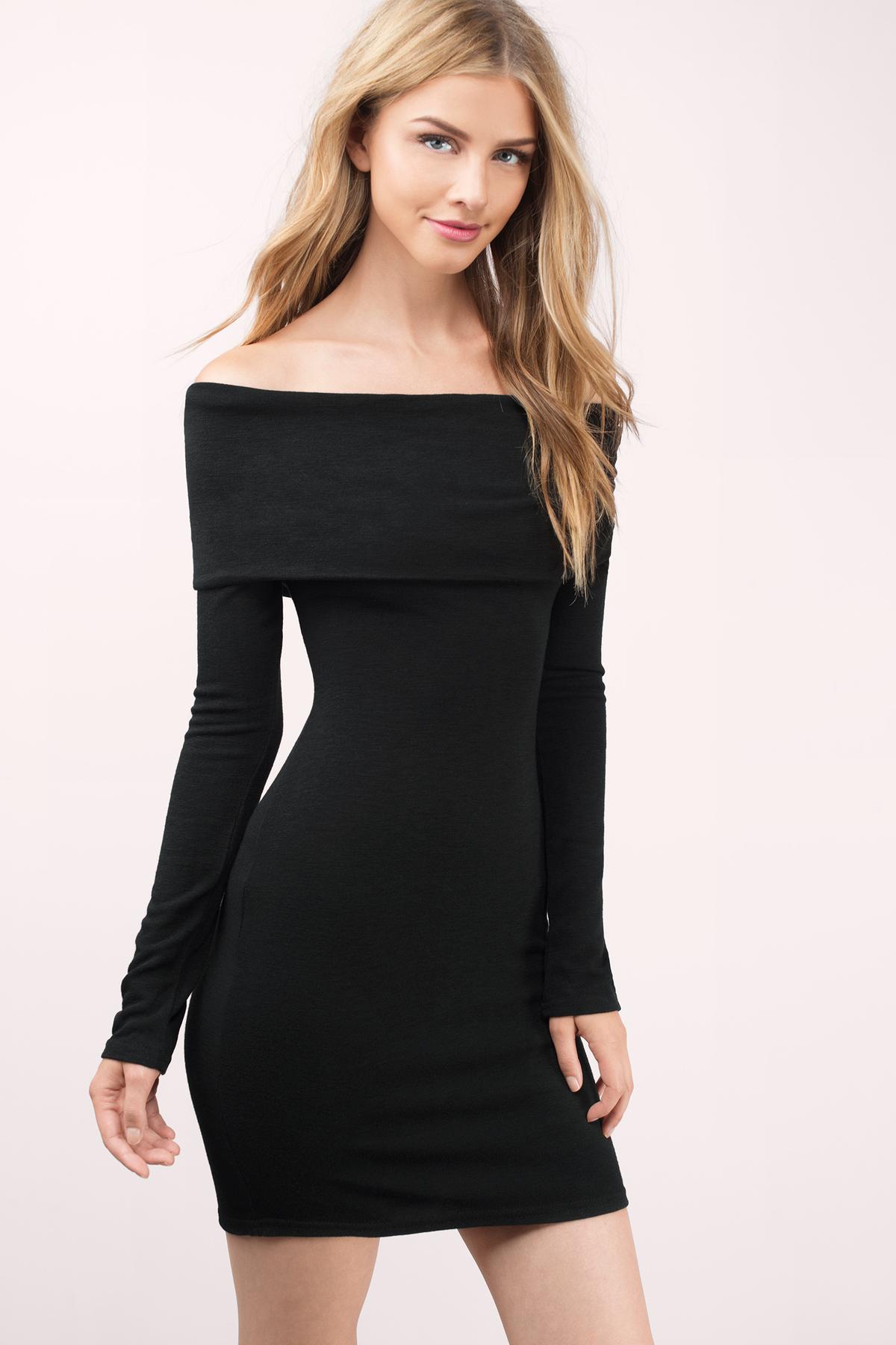 Off the shoulder black dresses – Dress blog Edin