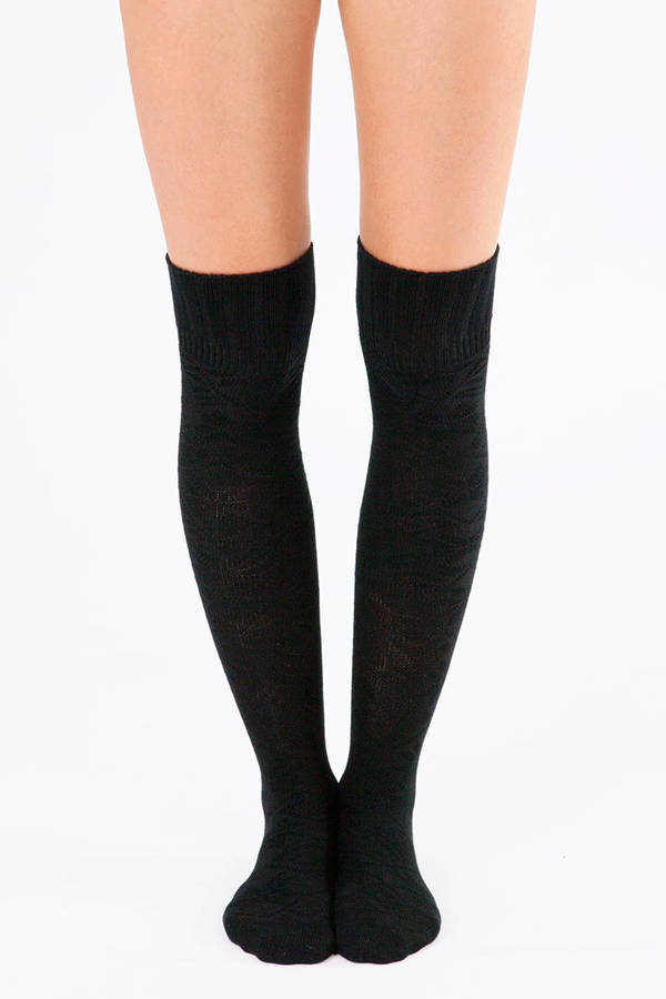 Thigh High Time Sock