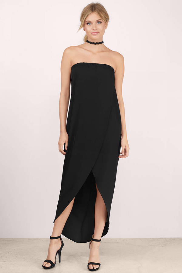 Evening Dresses  Long Black Cocktail Formal Gown Party Dress Tobi