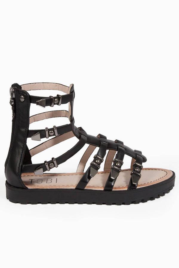 Untamed Gladiator Sandals