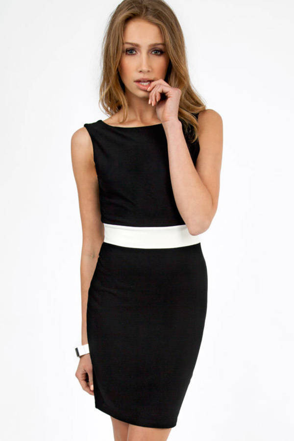 Very Backed Bodycon Dress