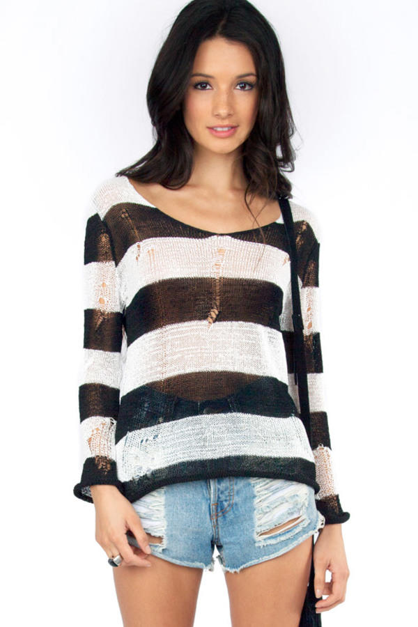 Big Stripe Sweater