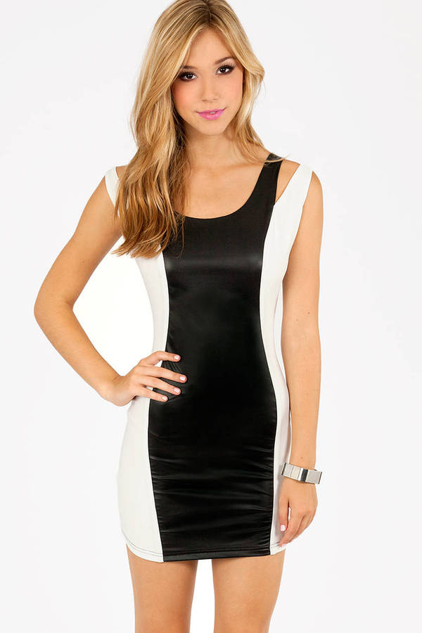 Mira Contrast Dress