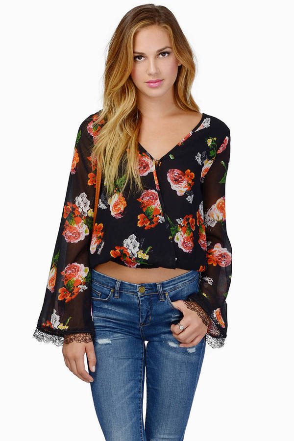 Wouldn't Mind Bell Sleeve Top