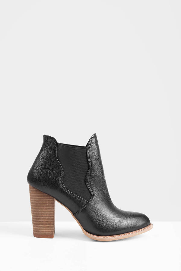 Find chelsea black booties at ShopStyle. Shop the latest collection of chelsea black booties from the most popular stores - all in one place.