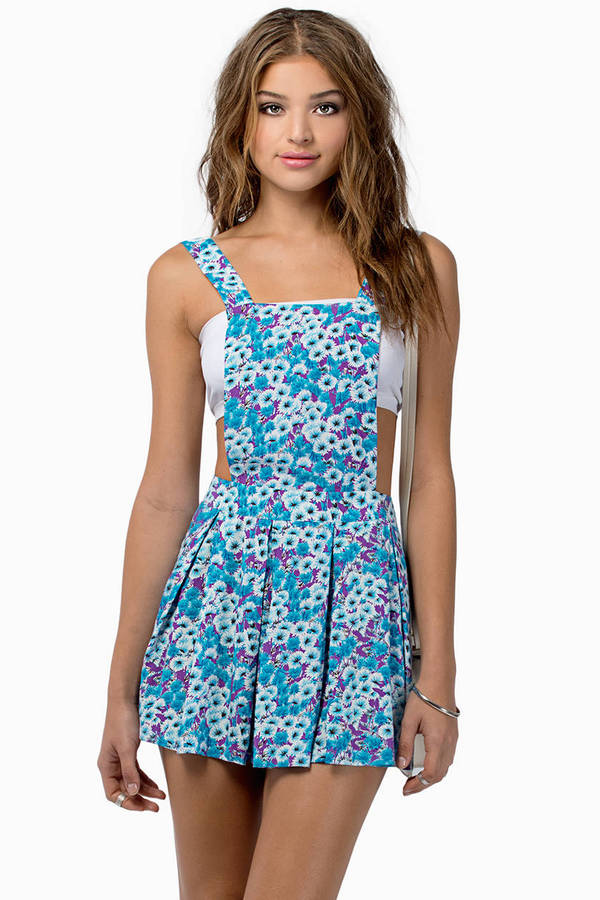 Painter Overall Dress
