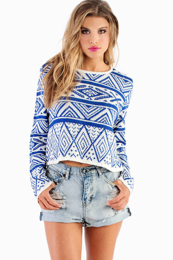Ivy Cropped Sweater