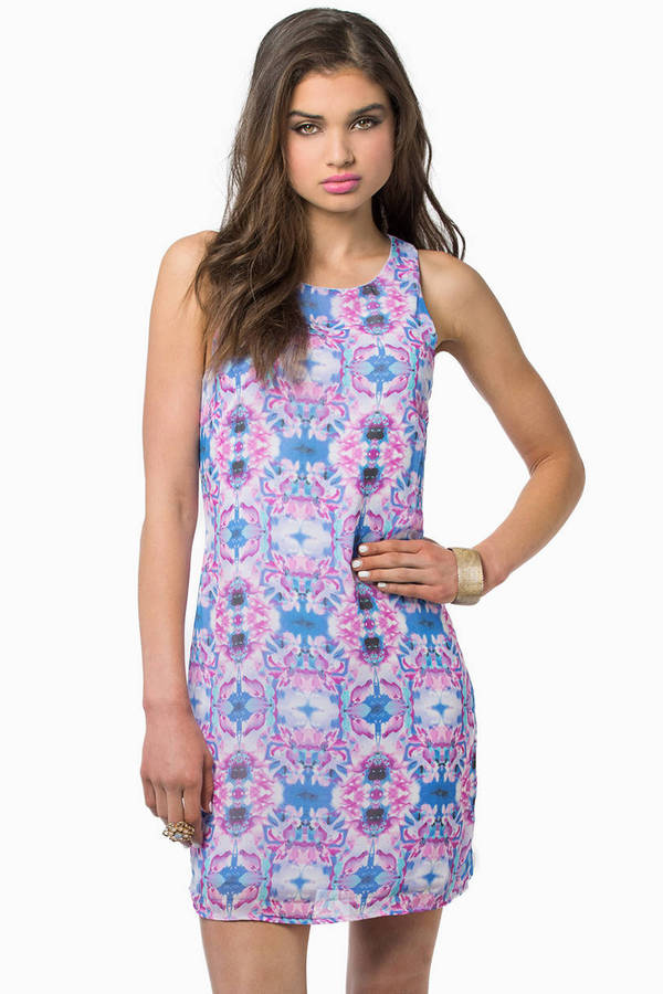 Kaleidoscope Shift Dress