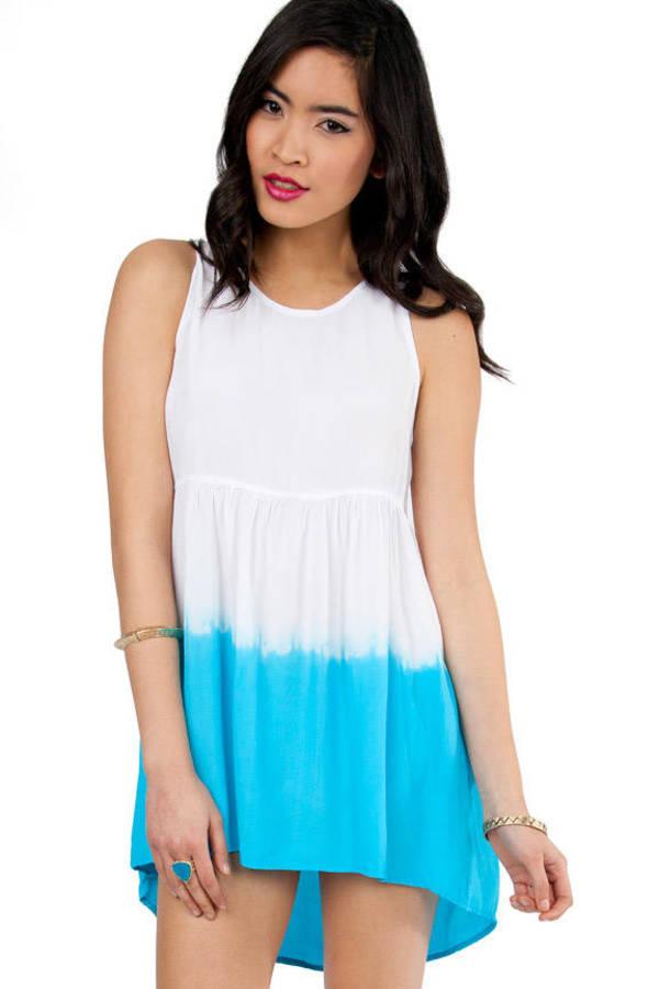 Motel Leyla Dip Dye Dress