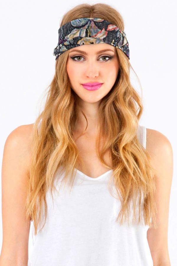 Francesca Floral Headband