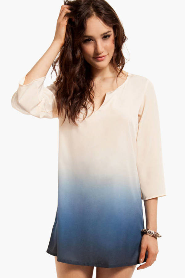 Ombre Gina Shift Dress
