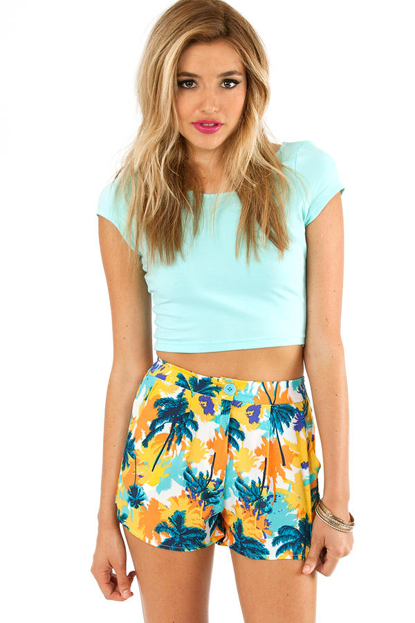 Tropical Palm Trees Shorts