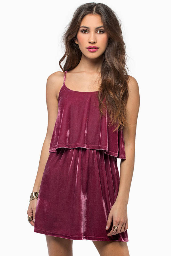 Moonlight Velour Dress