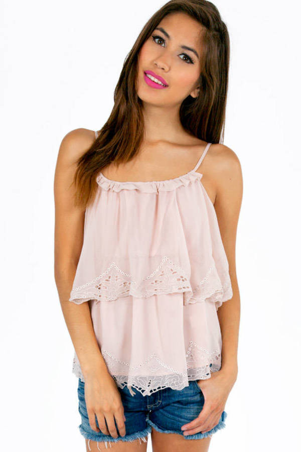 Never Enough Ruffs Ruffled Cami