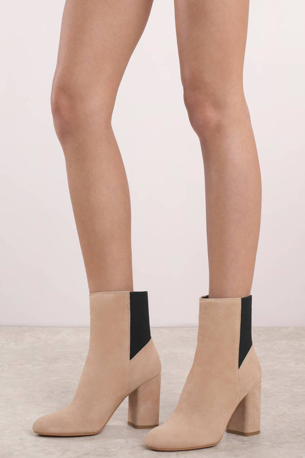 Blush Pink Dolce Vita - Two Toned Boots
