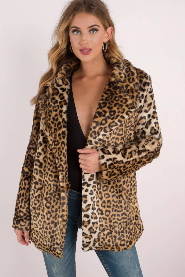 Forever 21 faux Leopard Coat NWOT Size SMALL S Winter Outerwear Jacket blazer. New (Other) $ or Best Offer. Free Shipping. Boutique Clothing Women Leopard Print Faux Fur Coat Jacket New Open Front Fall. Alfani Women's Leopard Print Coat Faux Fur Lined Snap Closure Size 0X See more like this. SPONSORED.