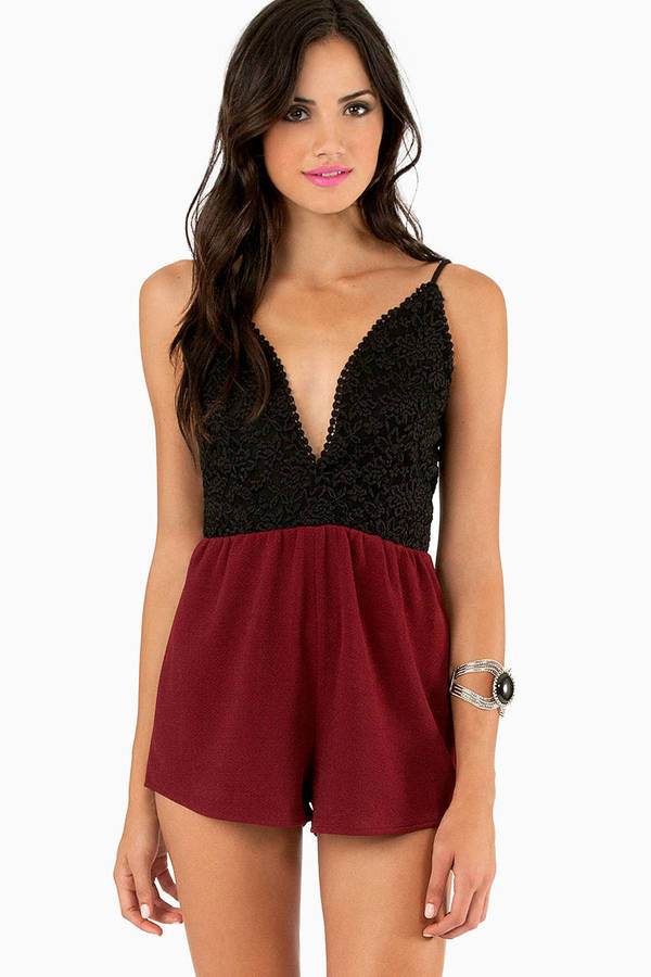 All In Lace Romper