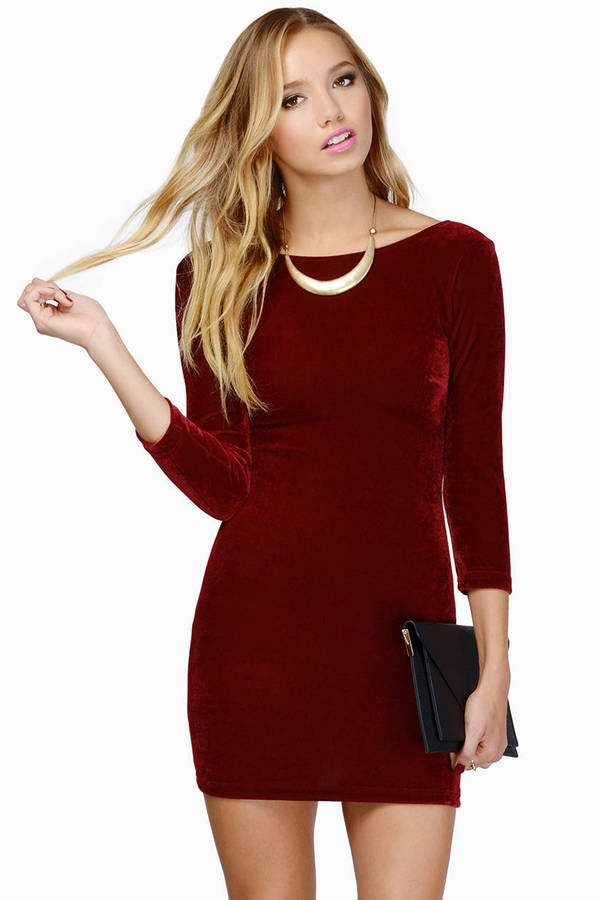 Cruel Intentions Velour Dress