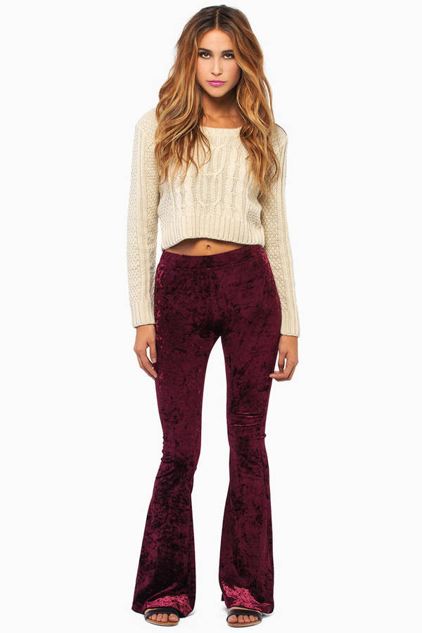 Harper Velour Pants