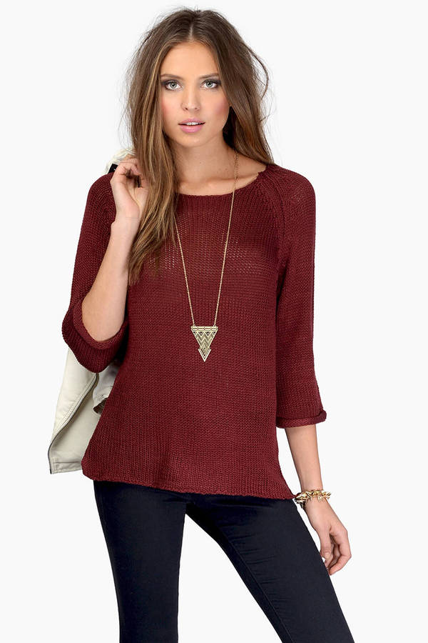 Find burgundy sweater at ShopStyle. Shop the latest collection of burgundy sweater from the most popular stores - all in one place.