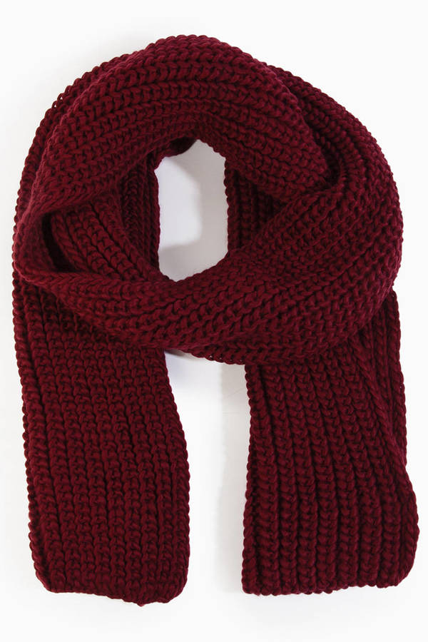 Wonderland Knit Scarf
