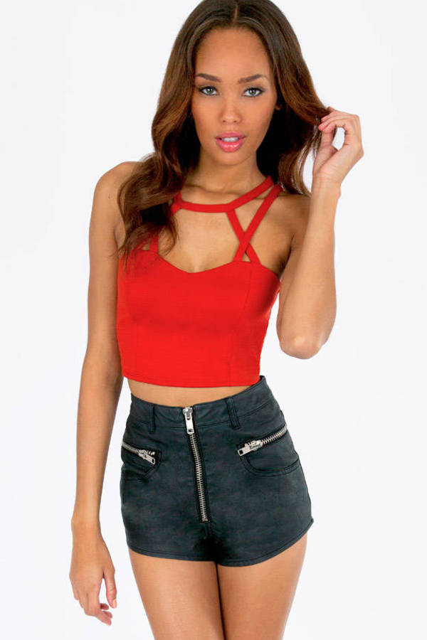 Caged Caprica Crop Top