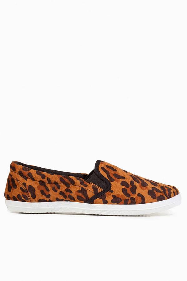 Meet A Cheetah Slip Ons