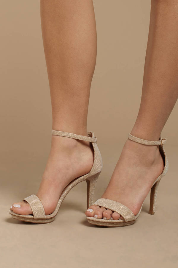 a80f309344 Ankle Strap Heels | Black Pumps, White Strappy High Heels | Tobi