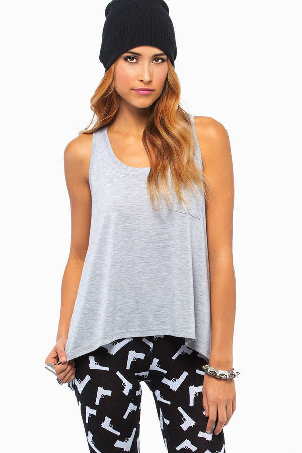 Basic Pocket Tank Top