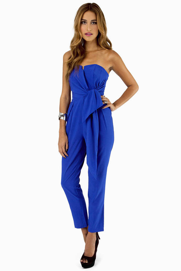 Knotty or Nice Jumpsuit