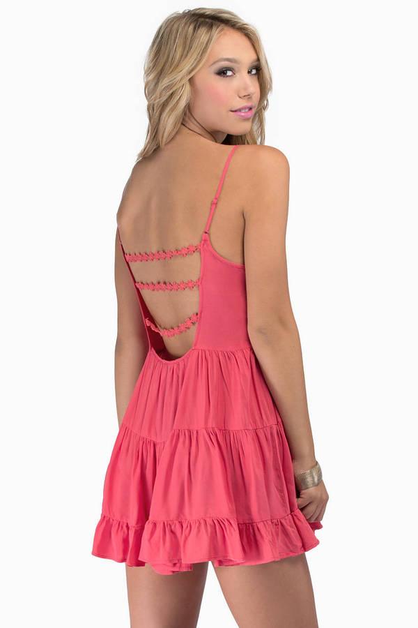 Dainty Tunic Dress