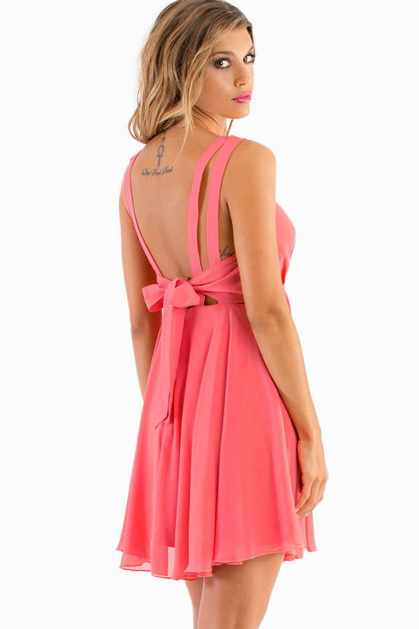 Sweet Vicky Bow Dress