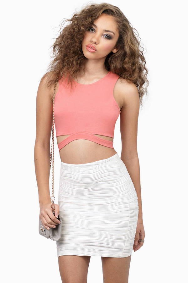 Undercut Crop Top
