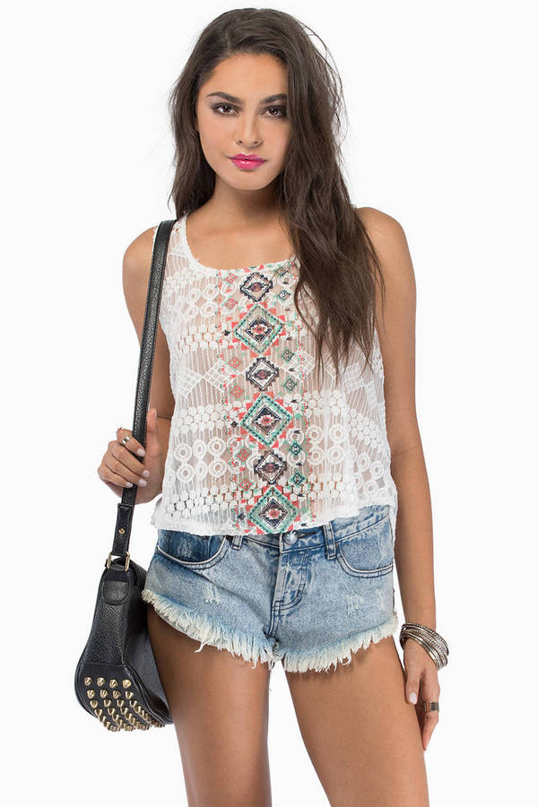 Bayside Vacation Top