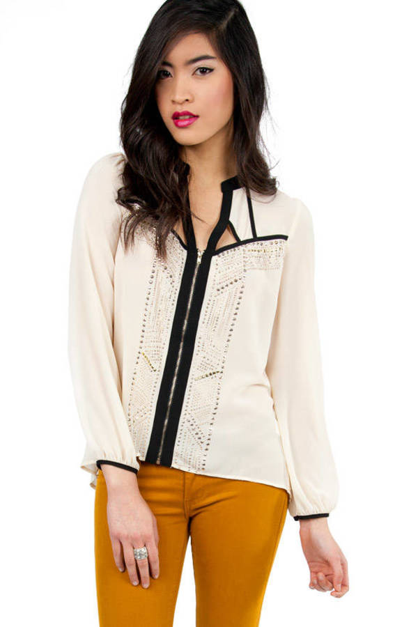 Billowing Sparkles Blouse