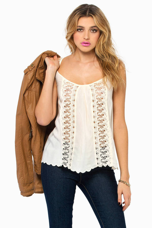Crochet Me Knot Top